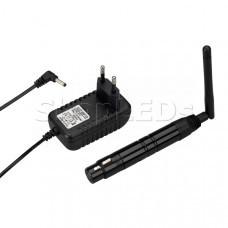 Усилитель SMART-DMX-Receiver Black (5V, XLR3 Male, 2.4G)
