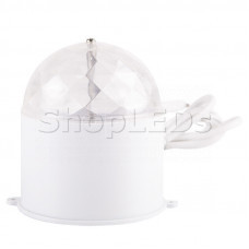 Диско-лампа светодиодная в компактном корпусе, 220В