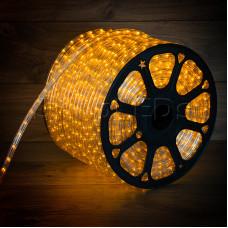 Дюралайт LED, постоянное свечение (2W) - желтый, бухта 100м