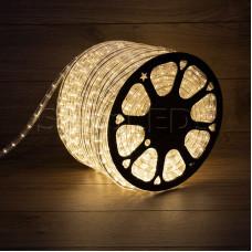 Дюралайт LED, постоянное свечение (2W) - тепло-белый, бухта 100м
