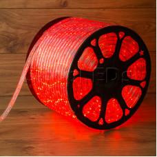 Дюралайт LED, свечение с динамикой (3W) - красный, бухта 100м