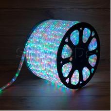 Дюралайт LED, свечение с динамикой (3W) - мульти (RYGB), бухта 100м