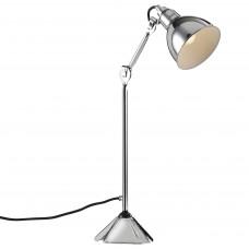 765914 (MТ1201802-1А) Настольная лампа LOFT 1х40W E14 хром (в комплекте)
